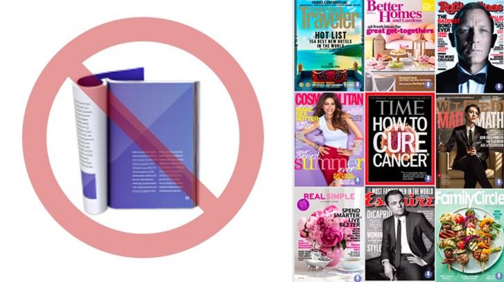 Google News discontinues print-replica magazines