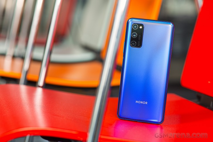 Honor V30 Pro in for review