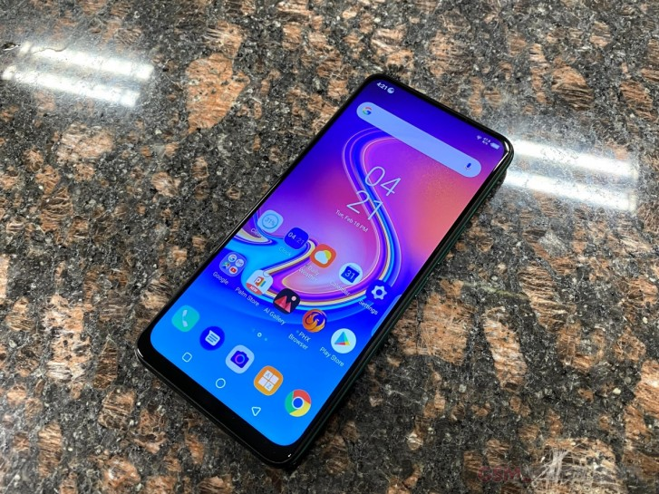 Here's our first look at the Infinix S5 Pro and its pop-up camera