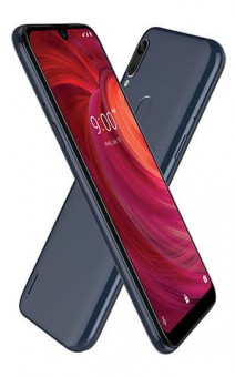Lava Z71 in Steel Blue and Red