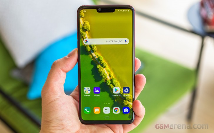 LG G8 ThinQ Android 10 update reaches the US