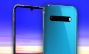 LG G9 case renders leak, confirming the design