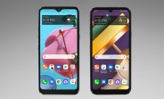Renders of two new budget LG phones leak ahead of imminent release