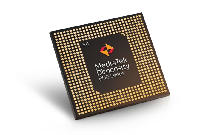 Dimensity 800 is officially MediaTek's first 5G chipset for midrange smartphones