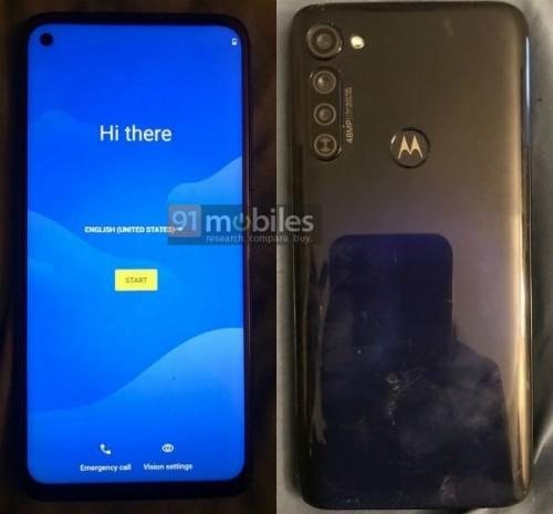 Moto G Stylus real images leak