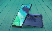 Moto G8 renders leak, show triple camera with dedicated macro shooter on the back