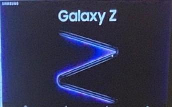 Samsung Galaxy Z's promo poster pops up