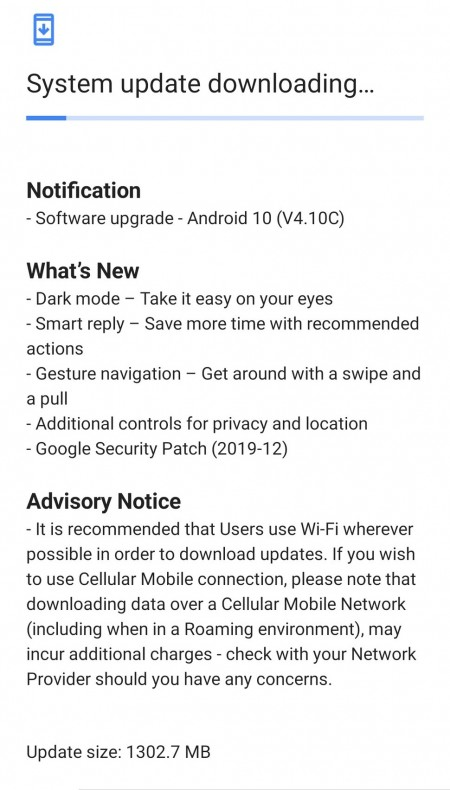 Nokia 6.1 Plus update changelog