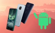 The Nokia 6.1 receives Android 10, its second major OS update