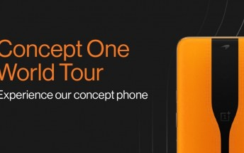 OnePlus Concept One World Tour announced, coming to 10 cities around the world