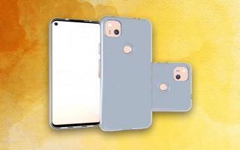 Google Pixel 4a design confirmed by leaked case renders