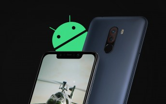 Pocophone F1 stable Android 10 update rollout begins
