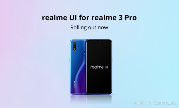 Realme 3 Pro receives stable update to Realme UI and Android 10