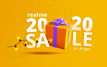Deal: Realme announces New Year sale, discounts many devices