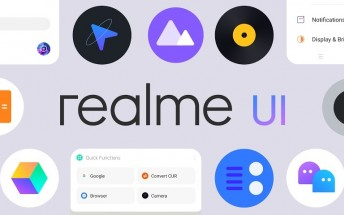 Realme UI officially detailed: simplified design, new features