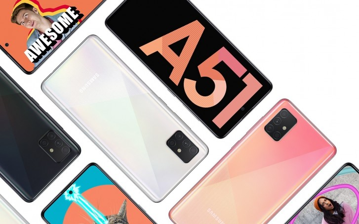 Samsung starts selling Galaxy A51 in Europe