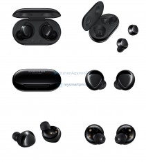 Samsung Galaxy Buds Plus in Black, Sky Blue and White