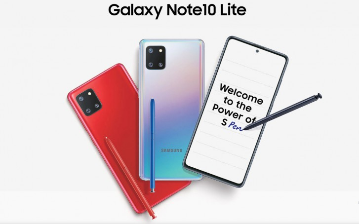 Samsung Galaxy Note10 Lite will start at INR 35,990 in India