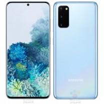 Samsung Galaxy S20 in Cloud Blue color