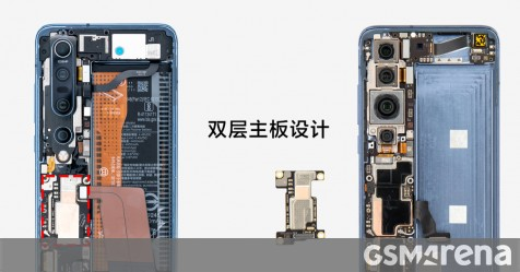 See the Xiaomi Mi 10 Pro from the inside, benchmark score appears - GSMArena.com news - GSMArena.com
