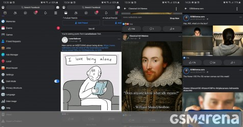 You want dark mode for your Facebook app? Get the Lite - GSMArena.com news - GSMArena.com