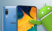 Samsung Galaxy A30 receives Android 10 and One UI 2.0 update