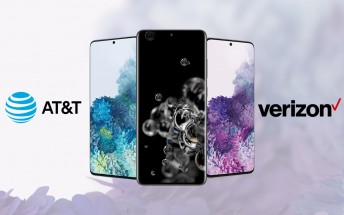 Verizon and AT&T detail Galaxy S20, S20+ and S20 Ultra pricing ahead of pre-order start
