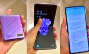 Samsung Galaxy Z Flip's first hands-on video pops up