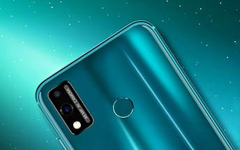 Honor 9X Lite promotional banner pops-up online