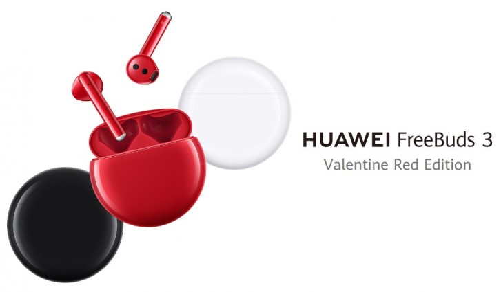 Huawei introduces Freebuds 3 Red edition