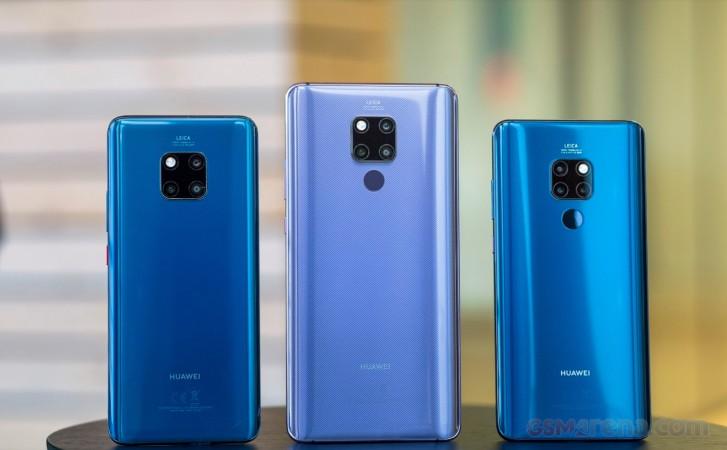 Huawei Mate 20 Pro, Mate 20 X, Mate 20