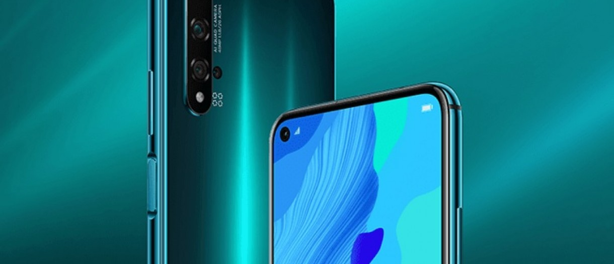 Huawei unveils Crush Green nova 5T news