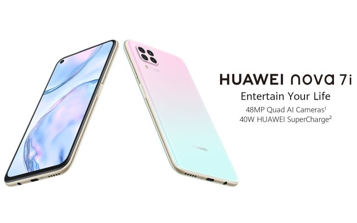Huawei nova 7i launched in Malaysia with 6.4'' FHD+ display, Kirin 810 and 4,200 mAh battery