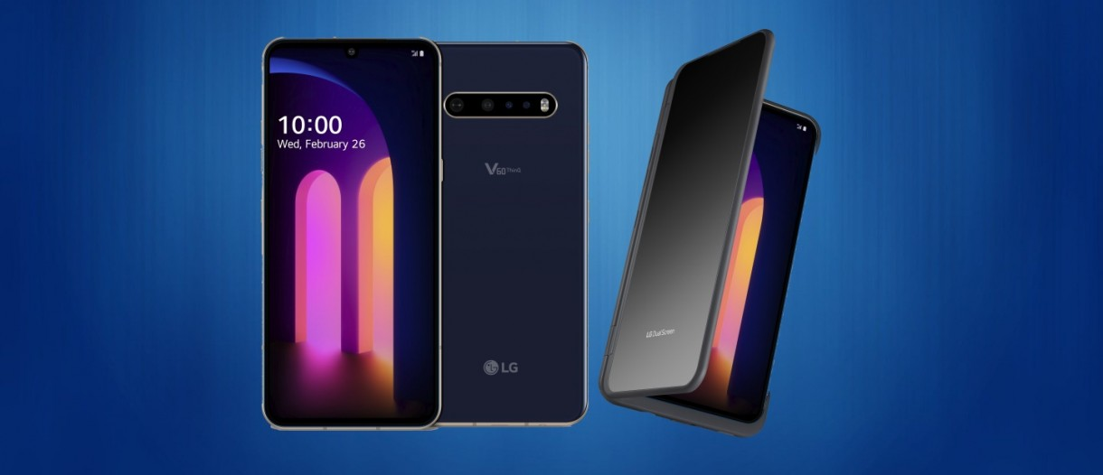 LG V60 ThinQ 5G is here with Snapdragon 865, new Dual Screen and ...