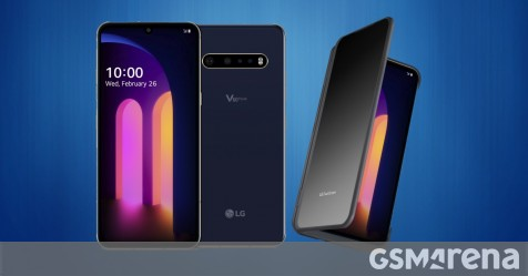 LG V60 ThinQ 5G is here with Snapdragon 865, new Dual Screen and 5,000 mAh battery - GSMArena.com news - GSMArena.com