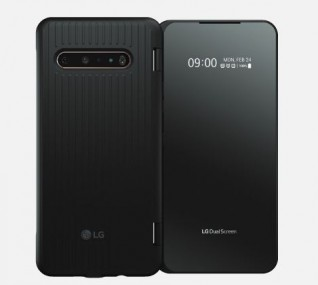 LG V60 with its Dual Screen accessory