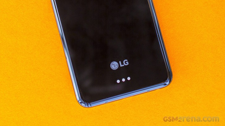 LG V60 ThinQ appears in a press render