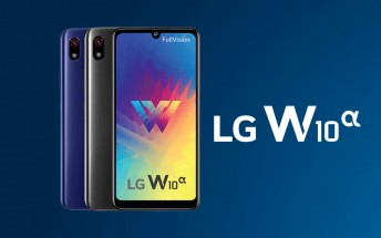 LG W10 Alpha unveiled, an entry-level dual VoLTE phone
