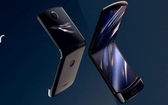 Motorola Razr's hinge lasts just 27,000 folds in durability test