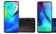 Render of Moto G8, G8 Power, and G8 Stylus leak