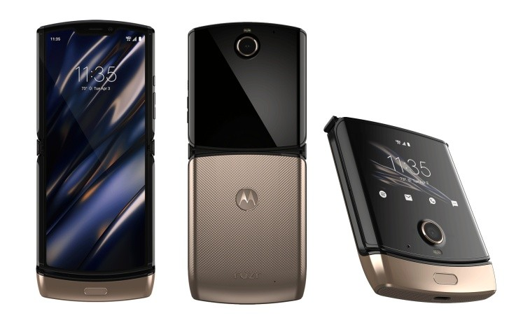 Motorola Razr 2019 Blush Gold variant is coming this spring