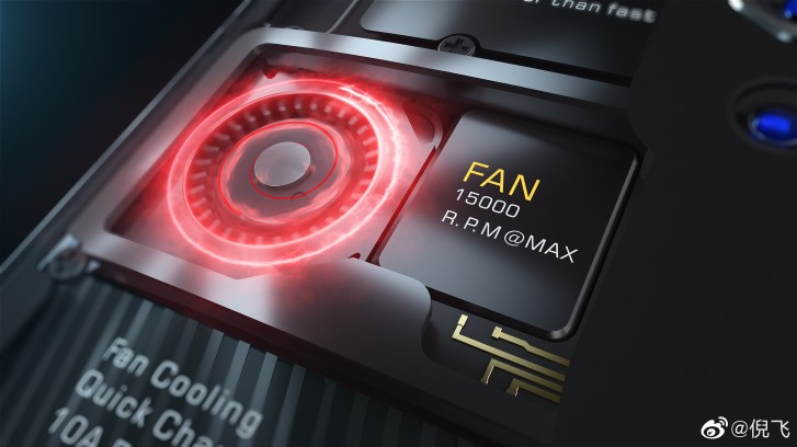 Nubia details the new active cooling fan solution on the upcoming Red Magic 5G