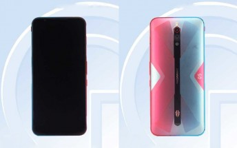 Nubia Red Magic 5G images pop up on TENAA