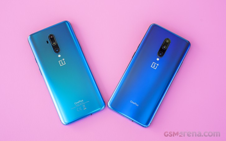 OnePlus 7T Pro, OnePlus 7 Pro, OnePlus 7 start receiving OxygenOS update