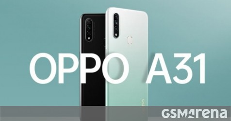 Oppo A31 to land in India next week - GSMArena.com news - GSMArena.com