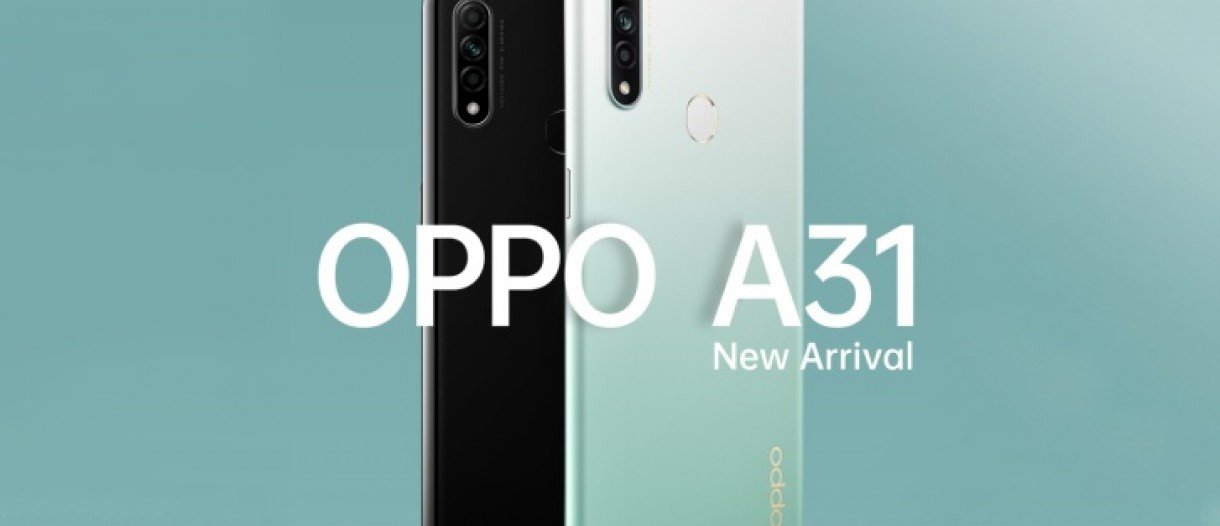 """Oppo A31 launched with 6.5"""" display, Helio P35 and 4,230 mAh battery -  GSMArena.com news"""