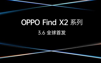 Oppo Find X2 series confirmed to launch on March 6