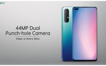 Oppo Reno3 Pro for India smiles for the camera in promo images