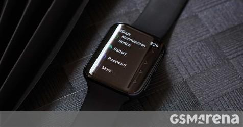 First live image of Oppo smartwatch reveals Google Wear OS - GSMArena.com news - GSMArena.com