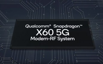 Qualcomm X60 5G modem announced: built on 5nm node, capable of 7.5 Gbps downloads